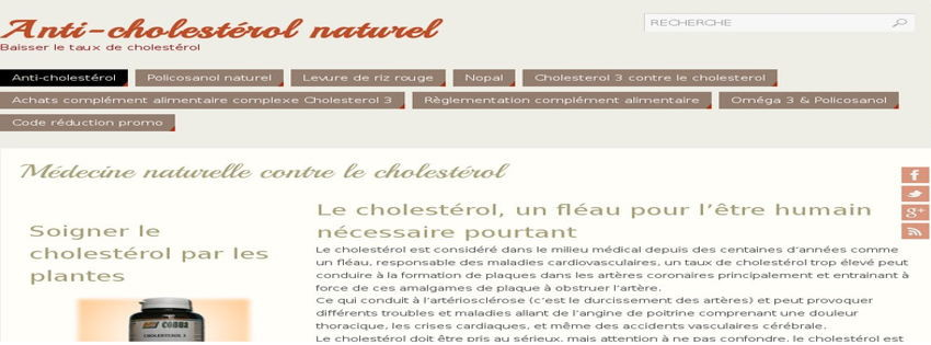 Anti-cholesterol.info