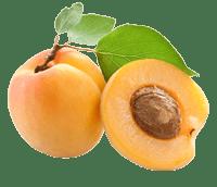 Fruit a noyau abricot